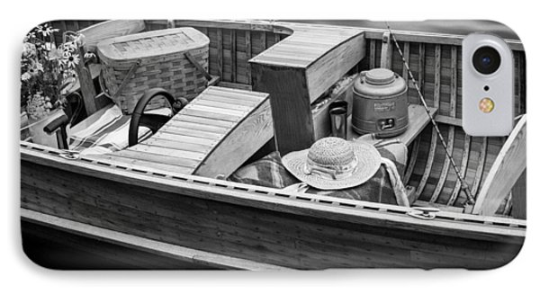 IPhone Case featuring the photograph Picnic Boat by Ross Henton