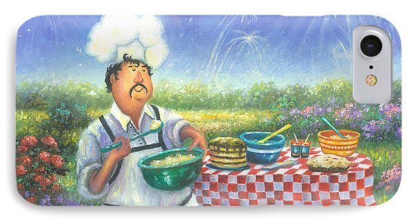 Picnic Chef Phone Case by Vickie Wade
