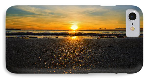 Picnic Point Sand IPhone Case by Ryan McGinnis