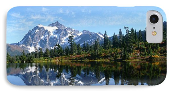 Picture Lake IPhone Case by Priya Ghose