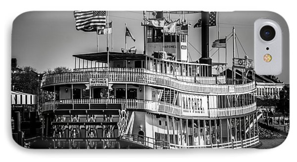 Picture Of Natchez Steamboat In New Orleans IPhone Case by Paul Velgos