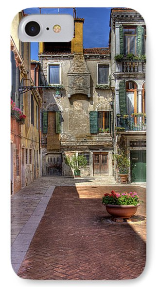 IPhone Case featuring the photograph Picturesque Alley by Uri Baruch