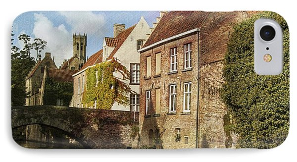 Picturesque Bruges IPhone Case by Juli Scalzi