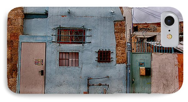 IPhone Case featuring the photograph Picturesque Facades by Uri Baruch