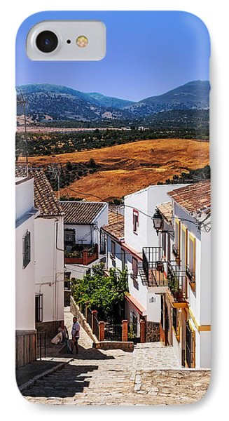 Picturesque Streets Of Ronda I. Spain IPhone Case by Jenny Rainbow