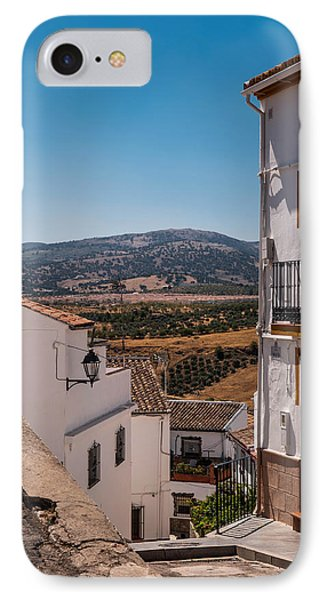 Picturesque Streets Of Ronda. Spain IPhone Case by Jenny Rainbow