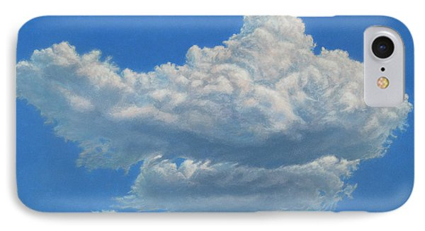 Piece Of Sky 3 Phone Case by James W Johnson