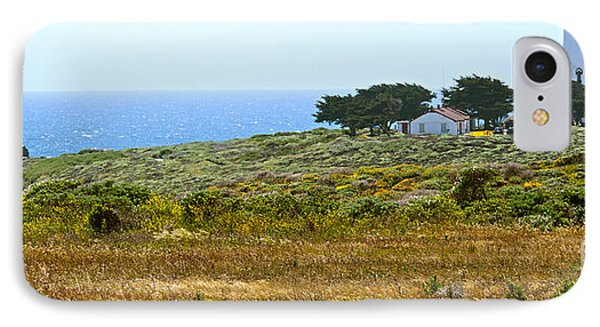 Piedras Blancas Lighthouse Near San Simeon And Cambria Along Hwy 1 In California Phone Case by Artist and Photographer Laura Wrede