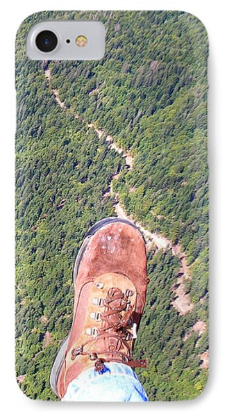 IPhone 7 Case featuring the photograph Pieds Loin Du Sol by Marc Philippe Joly