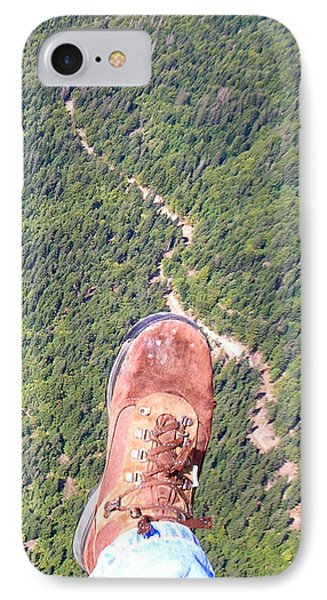 Pieds Loin Du Sol IPhone Case by Marc Philippe Joly