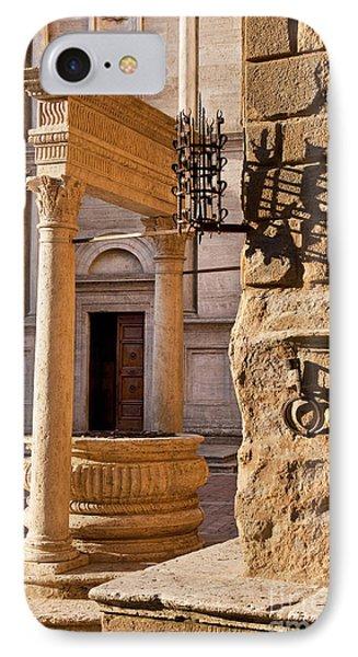 Pienza Tuscany Phone Case by Brian Jannsen