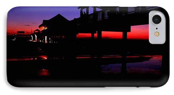 Pier 60 In After Glow 2 IPhone Case by Richard Zentner