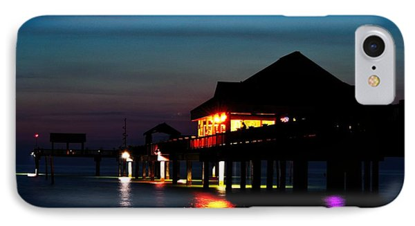 Pier 60 In After Glow IPhone Case by Richard Zentner