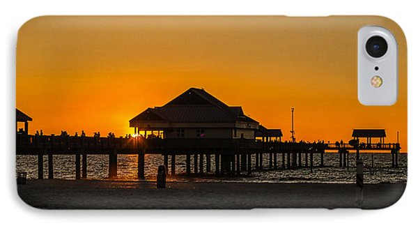 Pier 60 Sunset IPhone Case by Jane Luxton