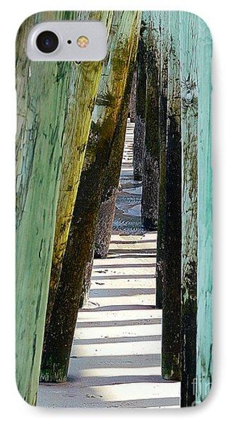Pier Anchors  IPhone Case by Marcia Lee Jones