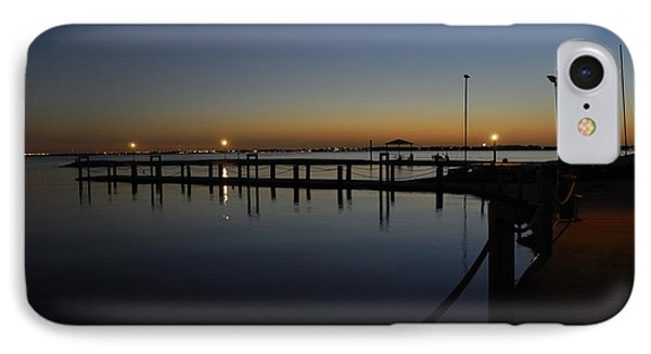 Pier At Chandlers Landing Rockwall Tx IPhone Case