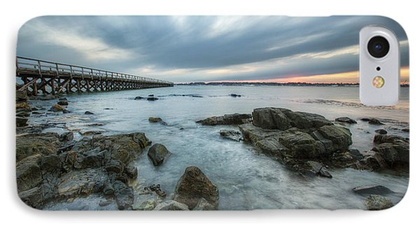 Pier At Dusk Phone Case by Eric Gendron