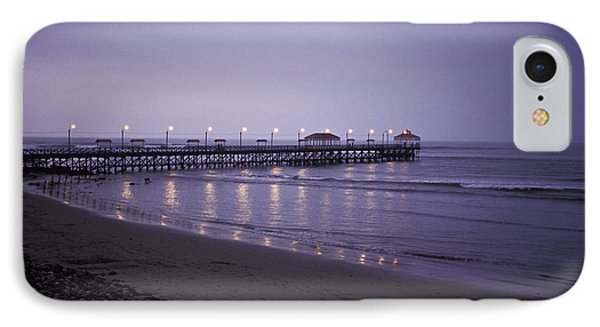 IPhone Case featuring the photograph Pier At Dusk by Lana Enderle