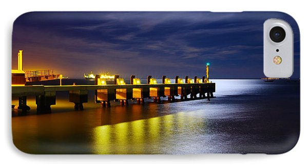 Pier At Night IPhone Case