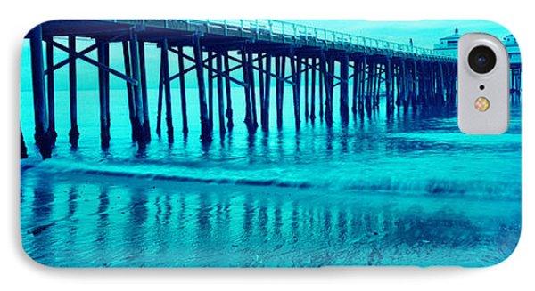Pier At Sunset, Malibu Pier, Malibu IPhone Case by Panoramic Images