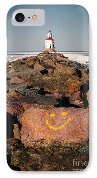 IPhone Case featuring the photograph Pier Happiness by Mark David Zahn Photography