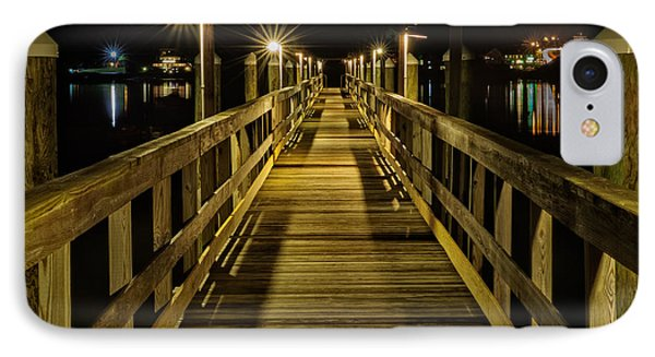 Pier Into The Night IPhone Case