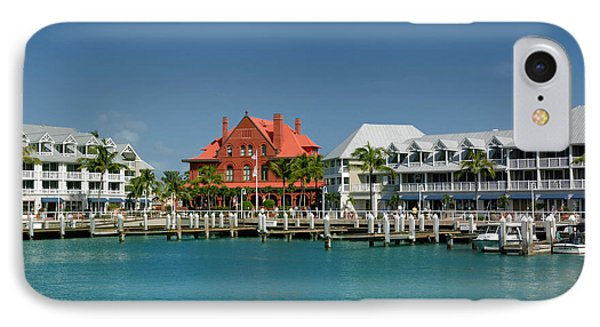 Pier Key West Florida Phone Case by Amy Cicconi
