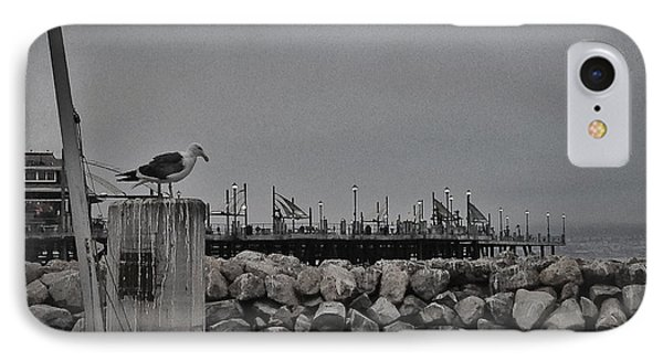 IPhone Case featuring the photograph Pier Lights by Kevin Bergen