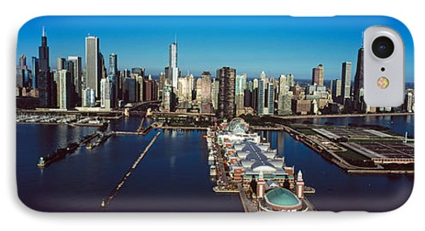 Pier On A Lake, Navy Pier, Chicago IPhone Case by Panoramic Images