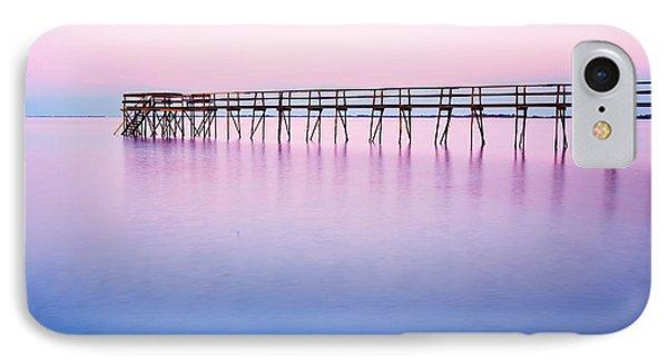 Pier On Lake Winnipeg Phone Case by Ken Gillespie