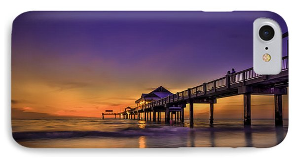 Pier Reflections IPhone Case by Marvin Spates