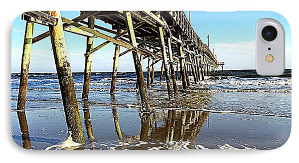 Pier Reflections IPhone Case by Shelia Kempf