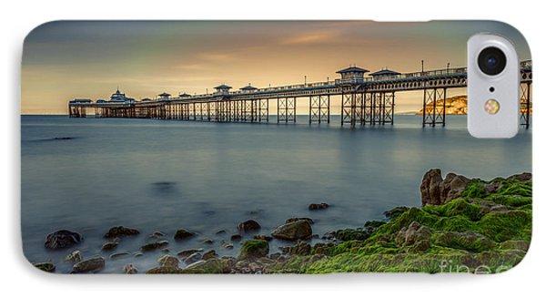 Pier Seascape Phone Case by Adrian Evans
