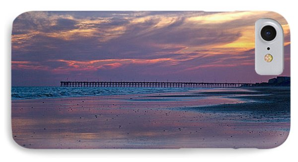 Pier Sunset IPhone Case by Betsy Knapp