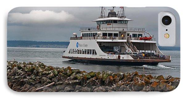 Pierce County Washington Ferry IPhone Case