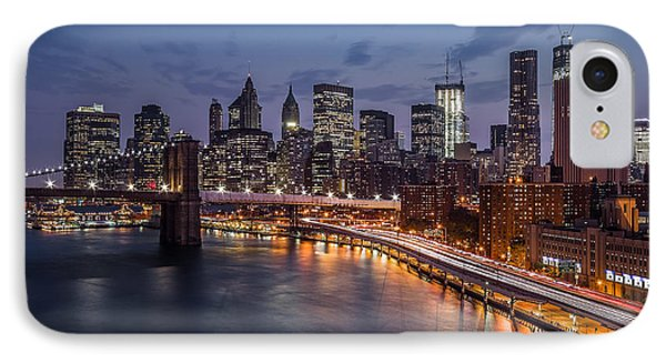IPhone Case featuring the photograph Piercing Manhattan by Mihai Andritoiu