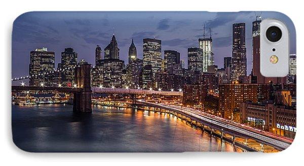 Piercing Manhattan IPhone Case by Mihai Andritoiu