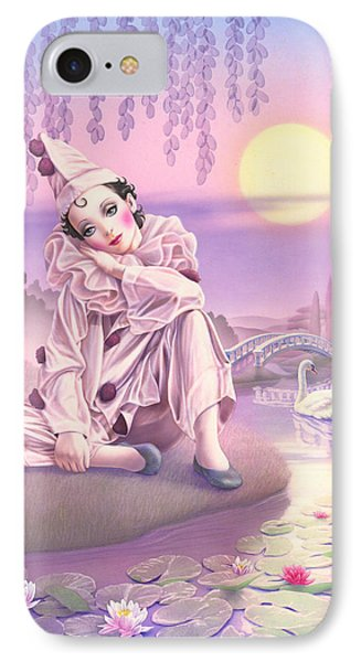 Pierrot & Swans Phone Case by Andrew Farley