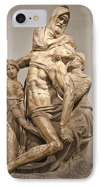 Pieta By Michelangelo IPhone Case