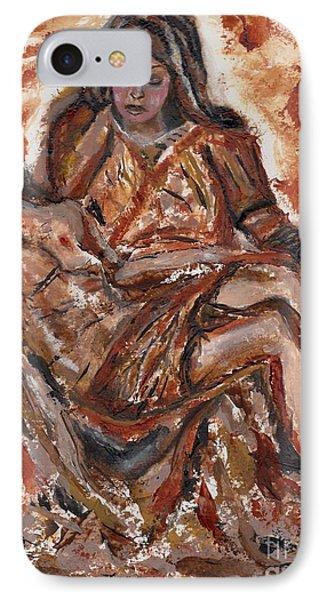 Pieta IPhone Case by Lori  Lovetere