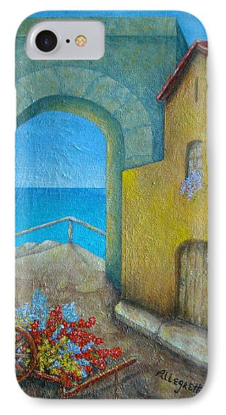 Pietrasanta In Tuscany Phone Case by Pamela Allegretto