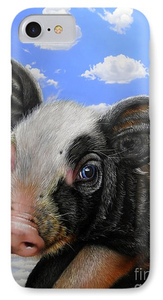 Pig In The Sky IPhone Case