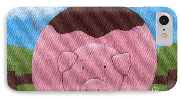 Pig Nursery Art Phone Case by Christy Beckwith