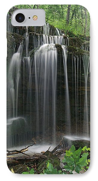 Pig Trail Falls Mulberry River Arkansas IPhone Case