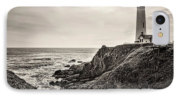 Pigeon Point Light Phone Case by Heather Applegate