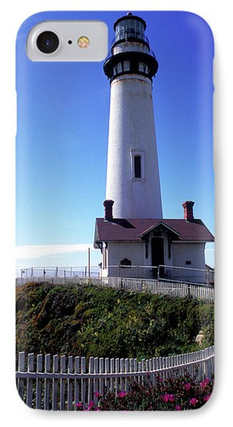 Pigeon Point Lighthouse 3 Phone Case by Kathy Yates