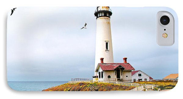 IPhone Case featuring the photograph Pigeon Point Lighthouse by Artist and Photographer Laura Wrede