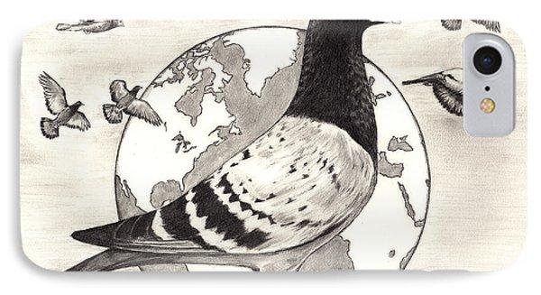 Pigeon Race IPhone Case