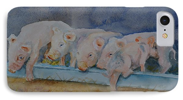 Piglets Phone Case by Betty Mulligan