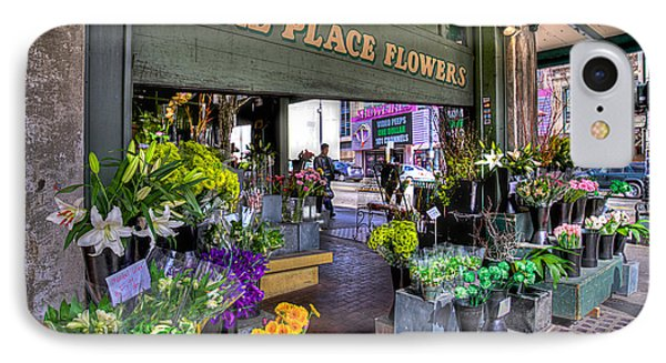 Pike Place Flowers IPhone Case